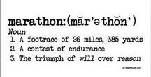 Marathon | Loving it, Hating it, Surviving it and Thriving in it / Training for, preparing for and totally rocking the marathon. It can be your first or you hundred and first, there are somethings that only marathoners know (or need to know)