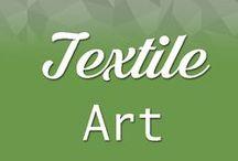 Textile art / Showcasing textile art, artistic fabrics, World of Wearable Art and design