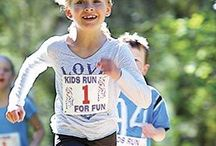 Running with Kids / Start them young and they'll (hopefully) be runners for life