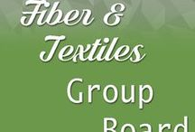Fiber and Textiles Group Board / Handmade items, tutorials and inspiration for all things fiber and textile related only. 4 pins at a time, then wait. Sales pins OK, but must be handmade. Dyeing, weaving, felting, knit crochet, spin, quilting, sewing, fiber, textile art, embroidery. No repeats for now. Ask for an invite here or on Etsy to be added.