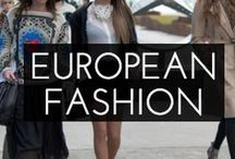 European Fashion / Spring, Summer, Fall and Winter Fashion trends in Spain and Europe. Take a look at what the local street styles and trends!