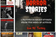 """Southern Horror Stories / has caused the captives to fight back. Tired of the mistreatment, the slaves want revenge and blood. Follow six separate stories of betrayal, violence, bloodshed and revenge. These short stories show what can happen when people have been pushed to their limits.  In """"Barren Plantation"""" find out why we use the word barren for people who cannot have children. """"Caleb's Stitches"""" shows how to turn the tables on a mad scientist. Climb inside the """"Mind of Hope"""" if you think you can survive the insanity. Read about a spooky way station for escaped slaves in """"The Underground Hell Road"""". """"Pirates of Slavery"""" is a bloody story of revolt, while """"Slave Island"""" will lure you to a dangerous island that you can never leave."""