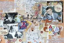 Scrapbooking layouts by Ekaterina_Ko / Scrapbooking layouts