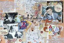 Scrapbooking layouts by Ekaterina_Ko / Scrapbooking layouts