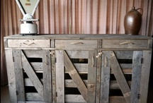 Pallet Furniture / Furniture made from old shipping pallets including tables, chairs, cabinates, side boards, shelves, draws, etc