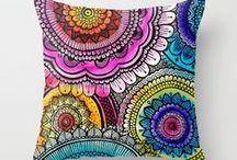 ♥ pillows ♥ / beautiful pillows and cushions