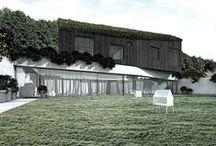 Semi-detached house concept / Project: 2013-2015 Status: under construction Design: Andrzej Niegrzybowski