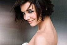 ChEvEux Chatains FoncÉs Courts-Dark Brown Short Hair / Coloration-Haircolor