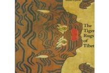 The Tiger Rugs of Tibet / Tibetan tiger rug