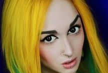 ChEvEux JaunEs-Yellow Hair / Cheveux Jaunes-Yellow Hair-Coloration-Haircolor