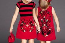 Tiny stylish babies / little cute clothes for little cuties.
