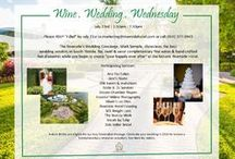 Wine.Wedding.Wednesday. / Once a month, the Riverside Hotel hosts a Wedding Soiree to meet a few of the top wedding vendors in South Florida. We offer complimentary wine and bites as well as the opportunity to meet with Mark and get a tour of the hotel!  For information on our next event, email marketing@riversidehotel.com or call (954) 377-0972. / by Riverside Hotel Weddings