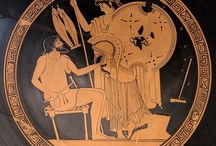 Αγγειογραφία - Vasepainting / Αρχαία ελληνικά αγγεία και οι καλλιτέχνες που τα ζωγράφισαν  Ancient Greek vases and their vase-painters