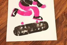 Friday Night Printmaking