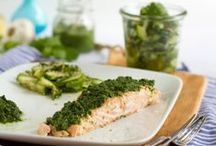 Food - Main - Fish / Simple and yummy recipes with fish and with the certain something. Visit me on www.haseimglueck.de