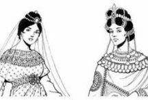 Arte della Moda e dei Costumi Storici / Ricerche su usanze e costumi dal Medioevo ai nostri giorni.
