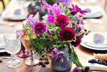 Floral Inspiration - Purples & Blues