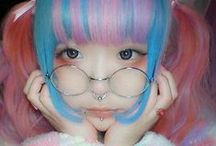Cheveux Japonnais-Japanese hair-Cosplay