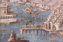 Ancient frescoes - Αρχαίες νωπογραφίες / Ancient frescoes from all the known world