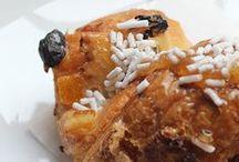 Breakfast / coffee, espresso, cappuccino, croissant, cake or orange juice: the authentic italian breakfast at Chocolat Milano