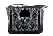 Skull Fashion - Clothing & Accessories / Skulls, sugar skulls, crossbones, skeletons, and more can be found on the alternative fashion styles available at RebelsMarket. We even have skull jewelry, bags, home decor and shoes to complete your look!