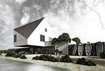Project with the long name / Project: 2015 Location: Żuławy Wiślane, Poland Status: Concept Design: architect Andrzej Niegrzybowski