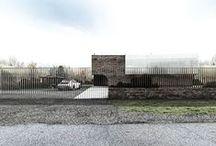 Quarter barrel vault house / Project: 2015 Location: Pomorskie, Kaszuby, Poland Design: Andrzej Niegrzybowski
