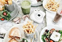 Eatery. / Food is love food is life