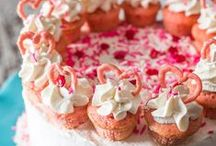 Valentine's Day / Romantic food and drink recipes as well as ideas for Valentine table settings and home decor.