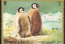 Antarctica and subantarctic islands on postage stamps