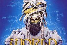 WST / 9 de Agosto de 1984 – 5 de Julio de 1985   El World Slavery Tour fue la mayor gira de Iron Maiden, incluyendo la mayor puesta en escena y la mayor duración. Duró 331 días y dieron 190 conciertos… IMPRESIONANTE!! La primera vez que una banda va de gira oficialmente a los países del bloque Este de Europa, esto se documentó en el video Behind The Iron Curtain.  http://www.maidenthebeast.com/web/world-tours/1984-world-slavery-tour