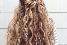 Rapunzel. / Let your hair down