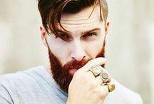 Beard lover / Beards, tattoos, long hair. Whatever makes him sexy.