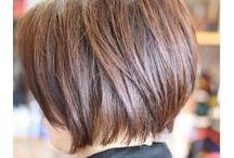 short hair cuts and make up