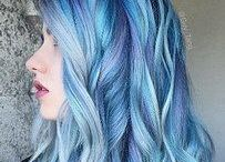 ChEvEux BlEu Jeans-Blue Jeans Hair