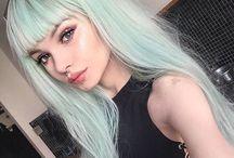 ChEvEux VErt MEnthE-Mint Green / Coloration capillaire, haircolor