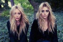 The Olsen twins / Mary Kate+Ashley Olsen