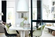 Pendant lights dining tabel