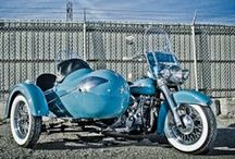 Motorcycle's with Sidecars ! / by Gene West