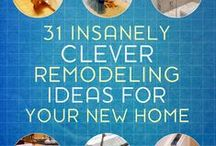 Ideas To Improve Your Home / Innovative and helpful inspirations to improve your home.