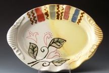 CERAMIC SHOWCASE POTTERS-2014 / Hand Made Pottery Plates, Platters and Flatware
