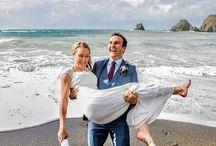 California Beach Wedding / Beach Weddings at The Elk Cove Inn and Spa