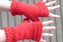 Fingerless Mitts (knit) / Mitts that I have ever knitted