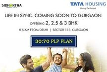 Tata Sector 113 Gurgaon / Tata Sector 113 Gurgaon - 12 acres residential development in Gurgaon consists of 8 towers houses approximately 650 apartments in 2 BHK & 3 BHK configurations. It's adjoining Delhi Border & well connected to Dwarka Expressway. Enjoy the beauty of nature because here you have the benefits of 100 plus trees at every acre you pass.