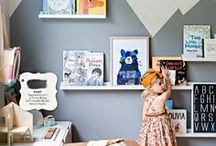 Little Libraries / Children's rooms centered around books, book themed design, children's room design, children's imagination stations, libraries, kids, books, bookshelves, reading, playroom