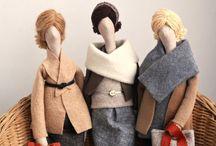Stylish dolls