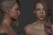 3D women