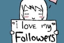 me and my follower / Thats for you and your follower