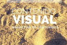 Contenido Visual / El uso correcto del contenido visual es clave para tu Estrategia de Marketing Digital. Descubre como atraer clientes con contenido visual.