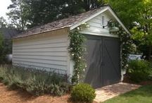 Shed Ideas / Our shed has come a long way in the short time we've been here, but we want to do more.  Gathering ideas here, and I bet you shed-lovers will find some inspiration too.  Visit our blog to read our construction journal.